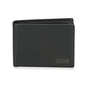 Tasker Herre Tegnebøger Guess NEW BOSTON BILLFOLD W/COIN POCKET Sort