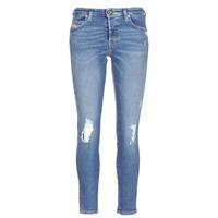 textil Dame Smalle jeans Diesel BABHILA Blå / 084wp