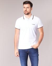 textil Herre Polo-t-shirts m. korte ærmer Diesel T RANDY BROKEN Hvid