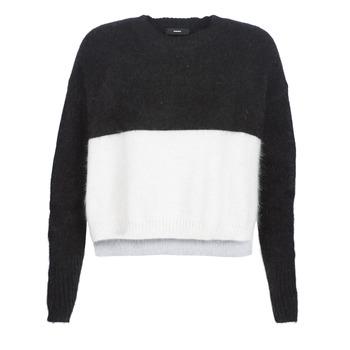 textil Dame Pullovere Diesel M AIRY Sort / Hvid