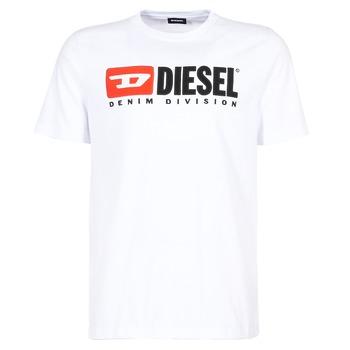 textil Herre T-shirts m. korte ærmer Diesel T JUST DIVISION Hvid