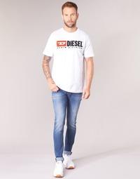 textil Herre Jeans - skinny Diesel SLEENKER Blå / 084yk