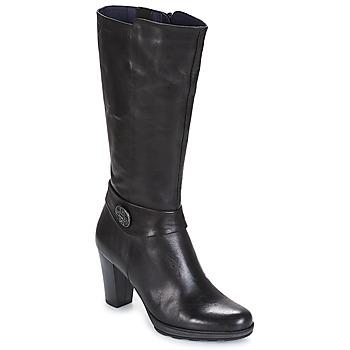 Sko Dame Chikke støvler Dorking REINA Sort