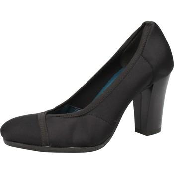 Sko Dame Højhælede sko Keys Decollete sko AE601 Sort