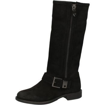 Sko Dame Chikke støvler Twin Set AE835 Sort