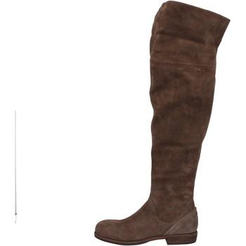 Sko Dame Lårhøje støvler Vic AE871 Brun