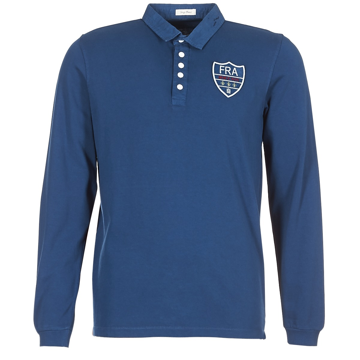 Polo-t-shirts m. lange ærmer Serge Blanco  POLO France