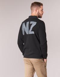 textil Herre Polo-t-shirts m. lange ærmer Serge Blanco POLO NEW ZEALAND Sort