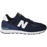 Sko Børn Lave sneakers New Balance GC574D4 Hvid, Flåde