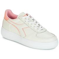 Sko Dame Lave sneakers Diadora B.ELITE L WIDE WN Beige / Pink