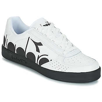 Sko Herre Lave sneakers Diadora B.ELITE BOLDER Hvid / Sort