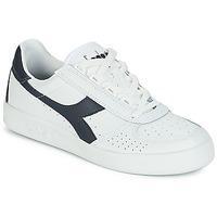 Sko Lave sneakers Diadora B.ELITE Hvid / Marineblå