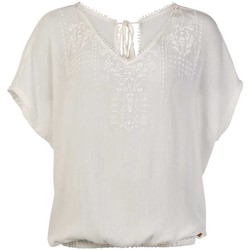 textil Dame Toppe / Bluser Protest TOP  SEASHELL MUMBY BLOUSE 1615181 BLANCO