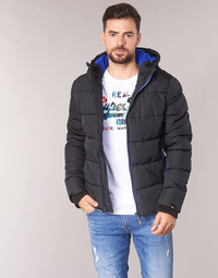 textil Herre Dynejakker Superdry SPORTS PUFFER Sort