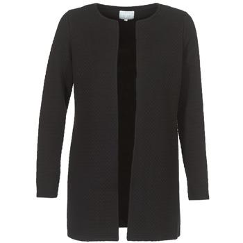 textil Dame Jakker / Blazere Vila VINAJA LONG Sort