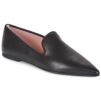 Sko Dame Slip-on Pretty Ballerinas BELALE Bomuld / Sort