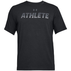 textil Herre T-shirts m. korte ærmer Under Armour Athlete SS 1305661-001 noir
