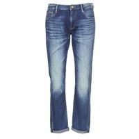 textil Dame Jeans - boyfriend Le Temps des Cerises HERITAGE Blå