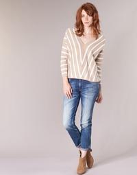 textil Dame Smalle jeans Le Temps des Cerises HERITAGE Blå / Medium