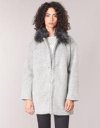 textil Dame Frakker Le Temps des Cerises DUCHESSE Grå