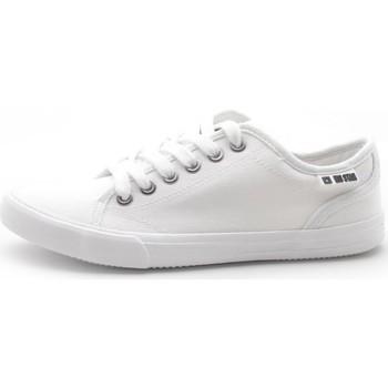 Sko Dame Lave sneakers Big Star W274835 Hvid