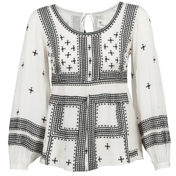 textil Dame Toppe / Bluser Stella Forest ANTONETA Beige / Sort