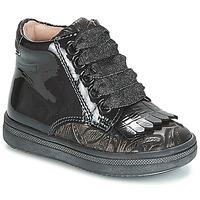 Sko Pige Høje sneakers Acebo's DOLAGIRI Sort / Sølv