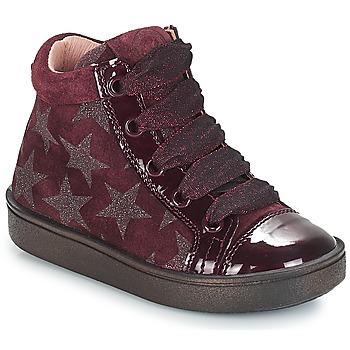 Sko Pige Høje sneakers Acebo's MASSA Bordeaux