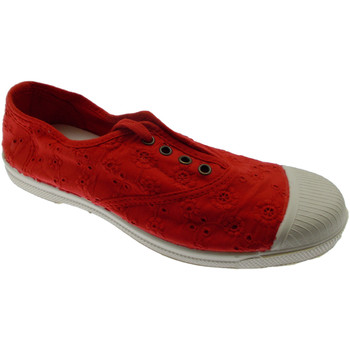 Sko Dame Slip-on Natural World NW120rosso rosso