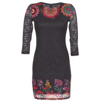 textil Dame Korte kjoler Desigual DARINA Sort