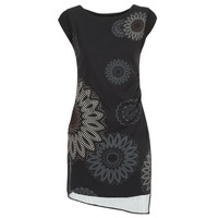textil Dame Korte kjoler Desigual SANDRINI Sort