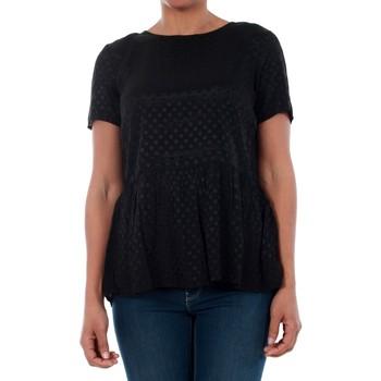 T-shirts m. korte ærmer Vero Moda  10191474 VMISOLDE TIE S/S TOP SB2 BLACK
