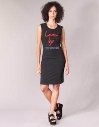 textil Dame Korte kjoler Love Moschino WVE9301 Sort