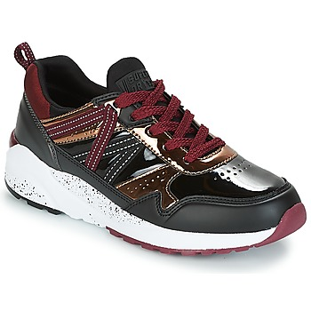 Sko Dame Lave sneakers Superdry URBAN STREET RUNNER Sort / Bordeaux