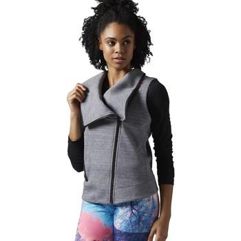 textil Dame Sweatshirts Reebok Sport Lhs Quick Grå