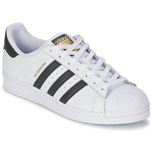 adidas Originals Superstar — Sorte og hvide sneakers