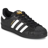 Sko Lave sneakers adidas Originals SUPERSTAR FOUNDATION Hvid / Sort