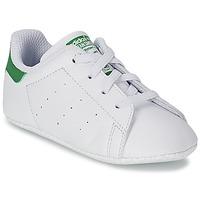 Sko Børn Lave sneakers adidas Originals STAN SMITH GIFTSET Hvid / Grøn