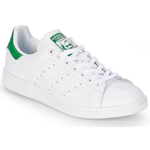 0726d240b33 adidas Originals STAN SMITH Hvid / Grøn - Gratis fragt | Spartoo.dk ...