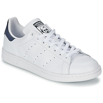 Sko Lave sneakers adidas Originals STAN SMITH Hvid / Blå