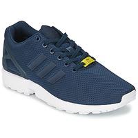 Sko Herre Lave sneakers adidas Originals ZX FLUX Blå / Hvid