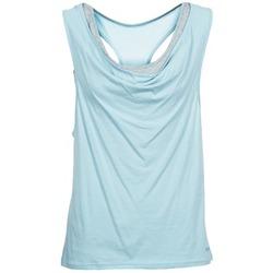 textil Dame Toppe / T-shirts uden ærmer Bench SKINNIE Blå