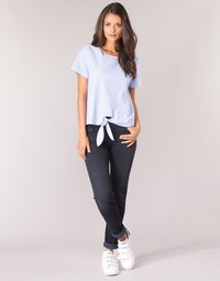 textil Dame Lige jeans Lee ELLY ZIP Sort