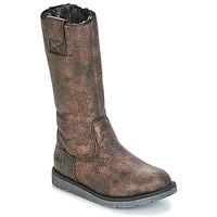 Sko Pige Chikke støvler Mod'8 ALTANA Sort / Bronze