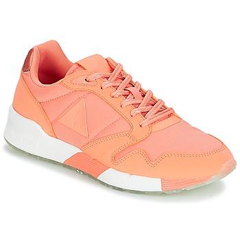 Sko Dame Lave sneakers Le Coq Sportif OMEGA X W METALLIC Pink / Koral