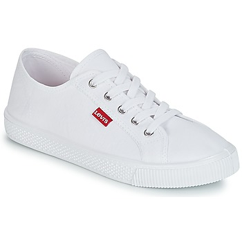 Sko Dame Lave sneakers Levi's MALIBU BEACH S Hvid