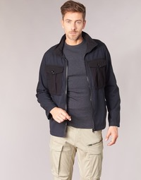 textil Herre Jakker G-Star Raw TYPE C UTILITY PM OVERSHIRT Sort