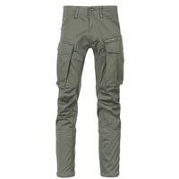 textil Herre Cargo bukser G-Star Raw ROVIC ZIP 3D STRAIGHT TAPERED Grå / Grøn