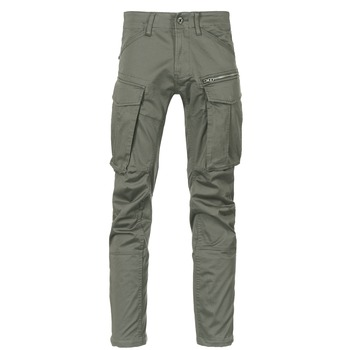textil Herre Cargo bukser G-Star Raw ROVIC ZIP 3D STRAIGHT TAPERED Grå / Grøn