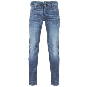 textil Herre Smalle jeans G-Star Raw D-STAQ 5-PKT SLIM Blå / Medium / Indigo / Ældet